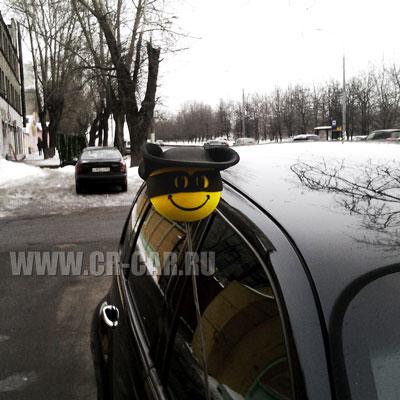 Шарик на антенну автомобиля