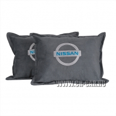 Подушка Nissan-15 Light Grey (Комплект 2 шт.)