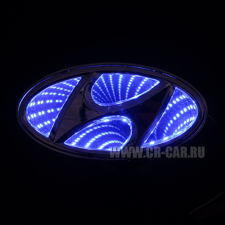 Подсветка значка автомобиля