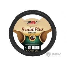 Оплётка на руль PSV BRAID PLUS Fiber М Черный