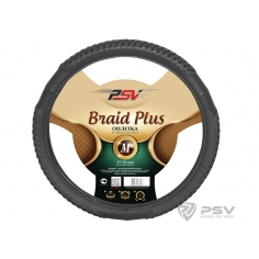 Оплётка на руль PSV BRAID PLUS Fiber М Серый